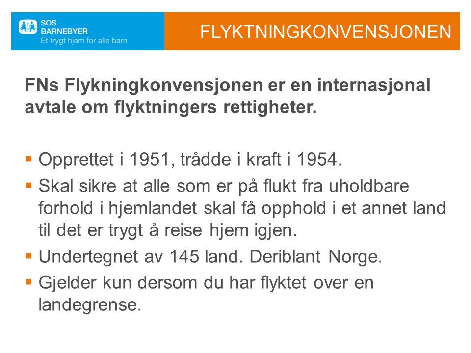 ET FRISTED PÅ FLUKT