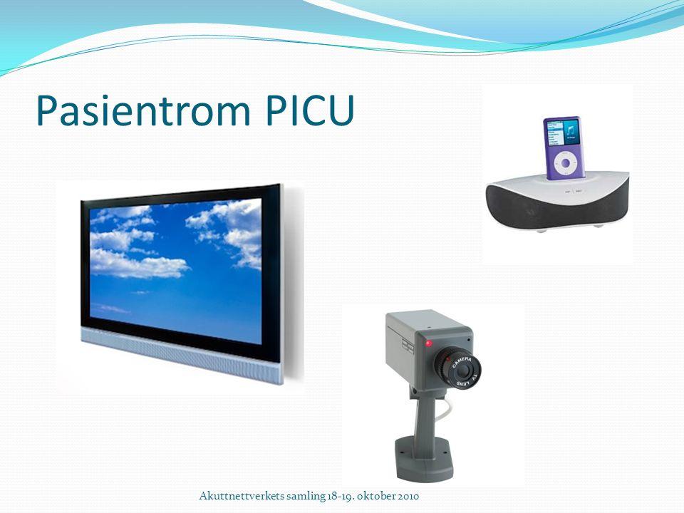 Pasientrom PICU Akuttnettverkets samling 18-19. oktober 2010