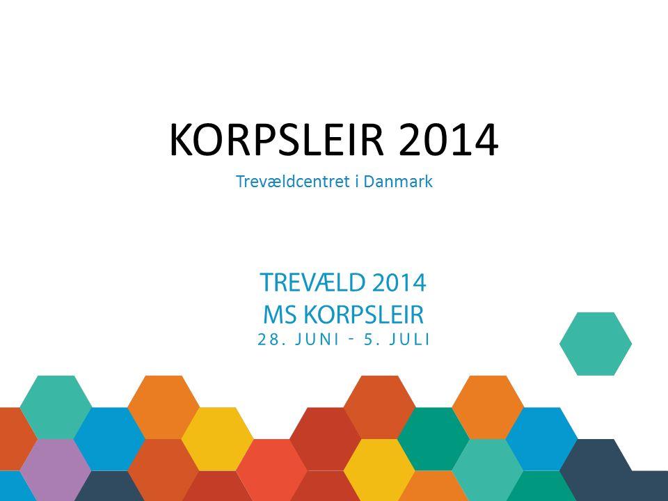 KORPSLEIR 2014 Trevældcentret i Danmark