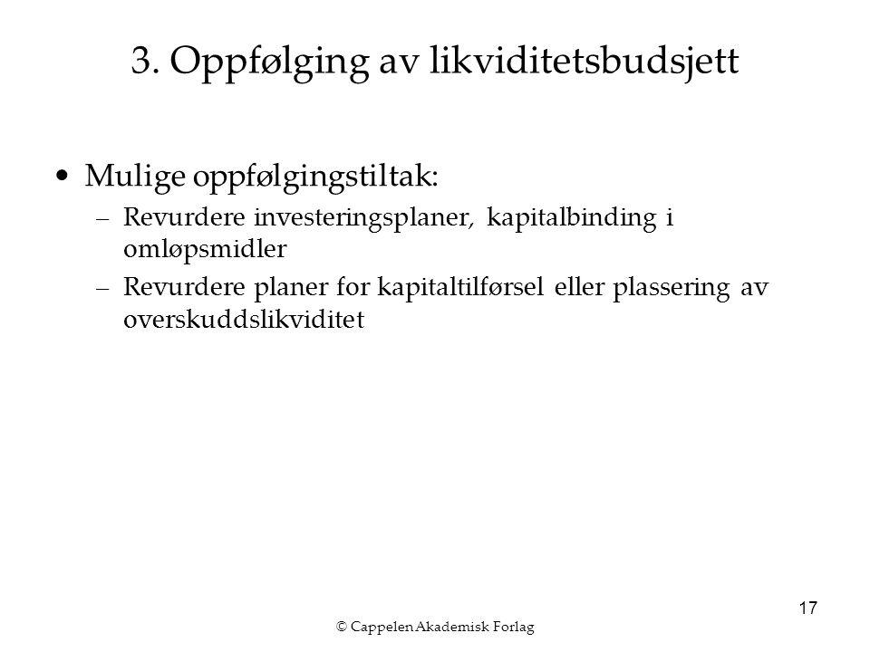 © Cappelen Akademisk Forlag 17 3.
