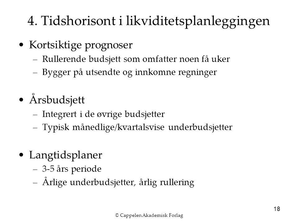 © Cappelen Akademisk Forlag 18 4.