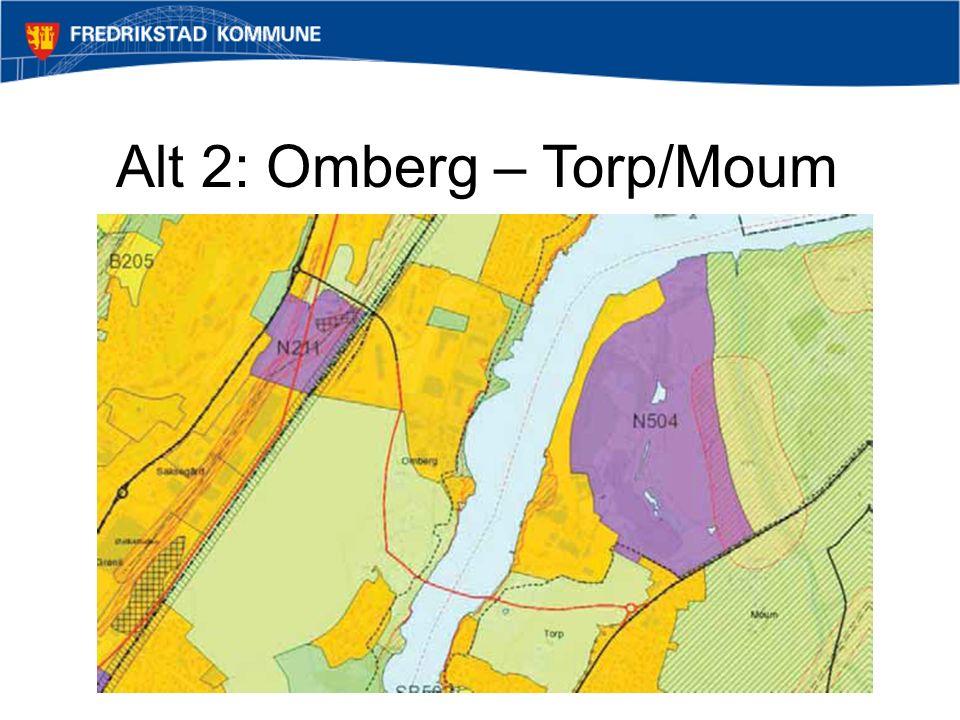 Alt 2: Omberg – Torp/Moum
