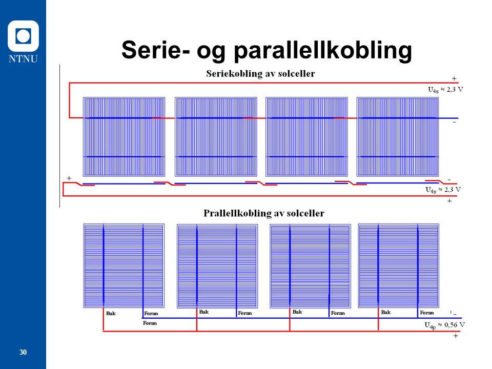30 Serie- og parallellkobling