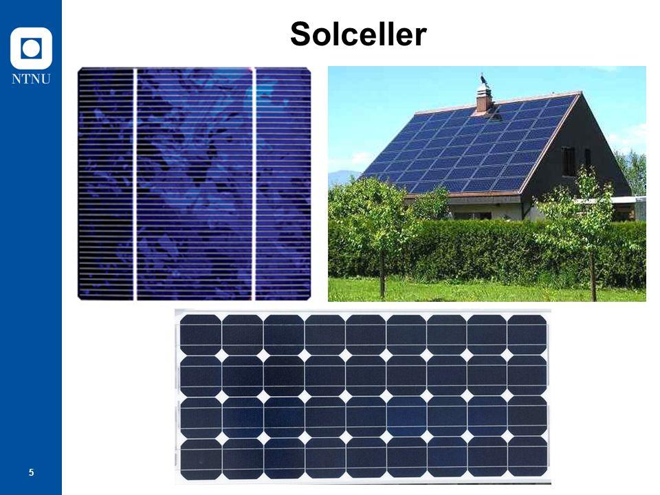 6 Solcelle spenning + ‒ Tomgangsspenning: 0,56 V Kortslutningsstrøm: 2,5 A i sterkt sollys 15,5 cm