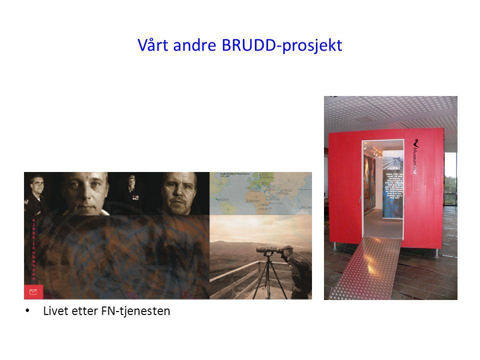 Vårt andre BRUDD-prosjekt Livet etter FN-tjenesten