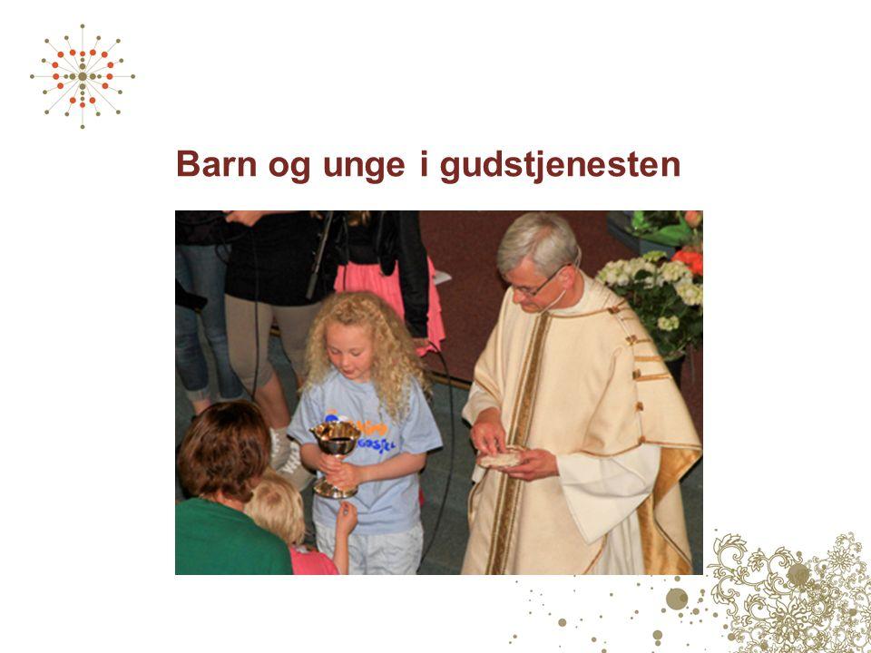 Barn og unge i gudstjenesten