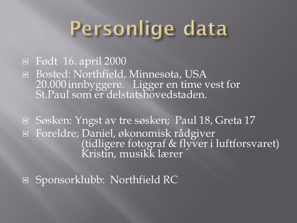  Utvekslingen er et samarbeid med Stokke RK som i år hadde to gode utvekslingskandidater; hvor vi vant Anette Larsen.