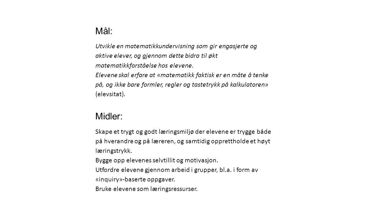 Praktiske eksempler Logaritmer (1T- vg1 studiespesialiserende).