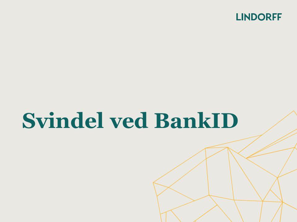 Svindel ved BankID