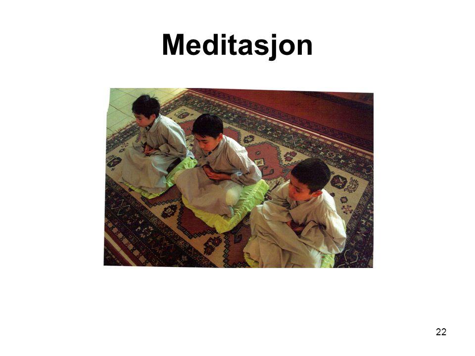 22 Meditasjon