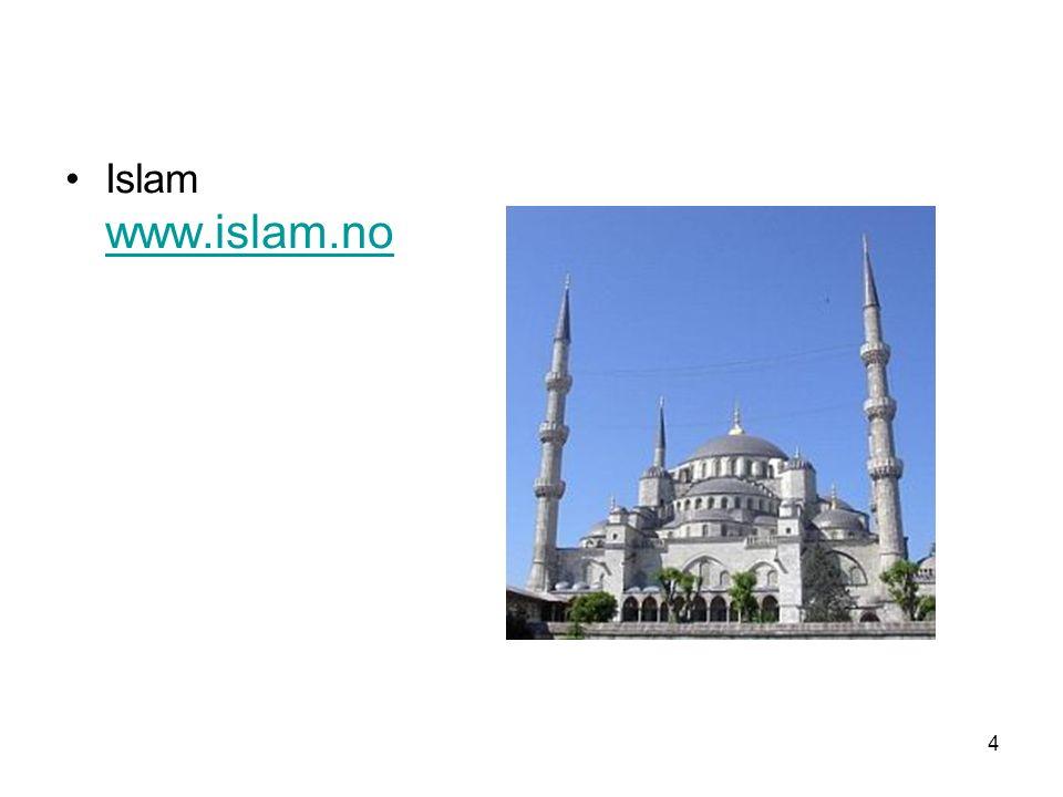4 Islam www.islam.no www.islam.no