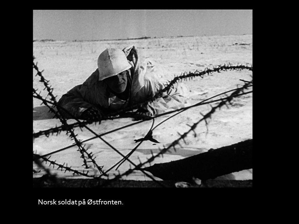 Norsk soldat på Østfronten.