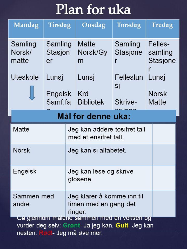 Til tirsdag Norsk: Les side 8 i «Zeppelin 2B» lesebok..