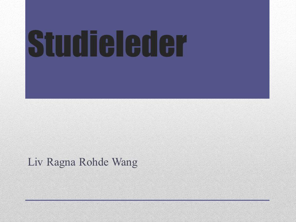 Studieleder Liv Ragna Rohde Wang