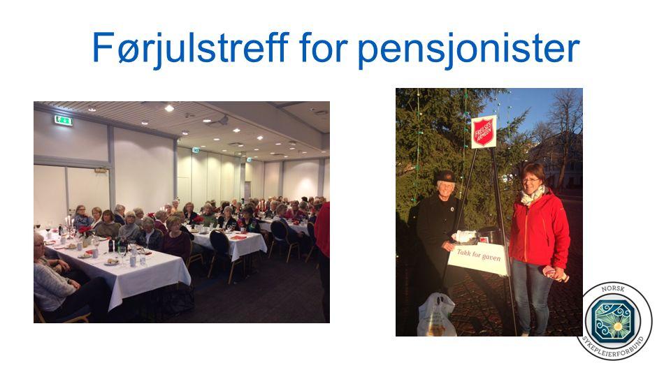 Førjulstreff for pensjonister