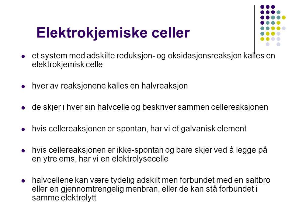 Elektrokjemi i Naturfag.(etter 10.