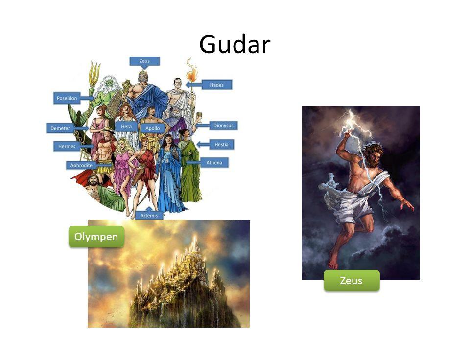Gudar Olympen Zeus
