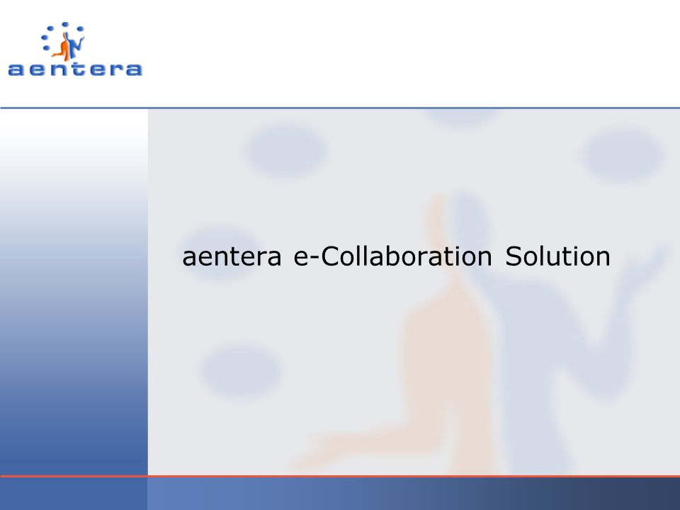 aentera e-Collaboration Solution