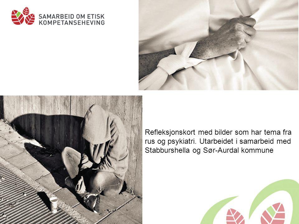 Refleksjonskort knyttet til Lov om kommunale helse- og omsorgstjenester kapittel 9 Oppegård kommune har på oppdrag fra prosjekt «Samarbeid om etisk kompetanseheving» utarbeidet refleksjonskort knyttet til bruk av tvang og makt overfor personer med psykisk utviklingshemning.