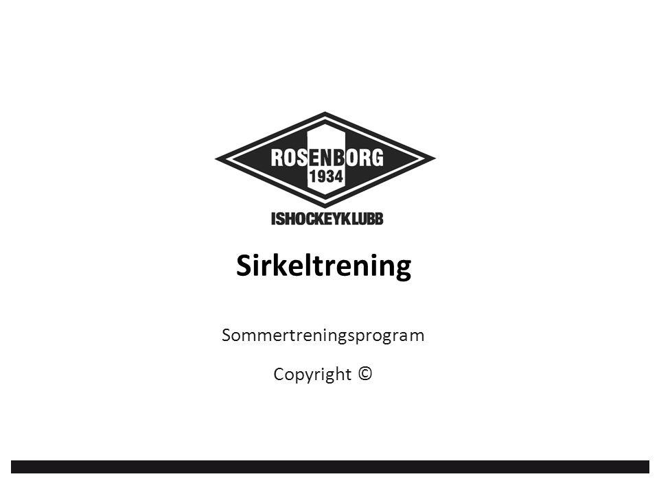 Sommertreningsprogram Copyright © Sirkeltrening