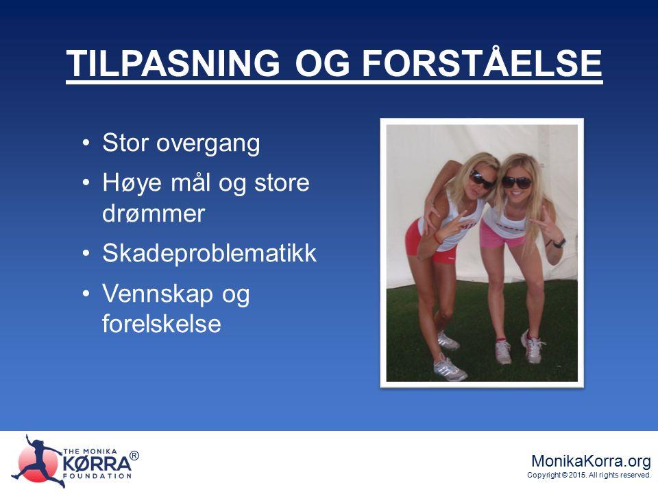 ® MonikaKorra.org Copyright © 2015. All rights reserved. ® LIVET TAR EN BRÅ VENDING