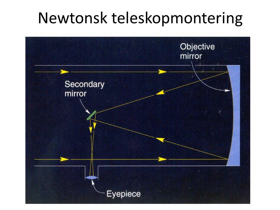 AST1010 - Teleskoper Newtonsk teleskopmontering