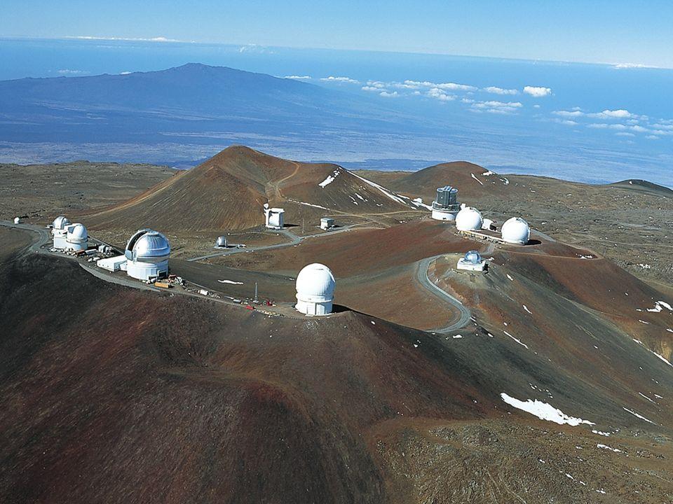 AST1010 - Teleskoper31 Observatorier på Mauna Kea