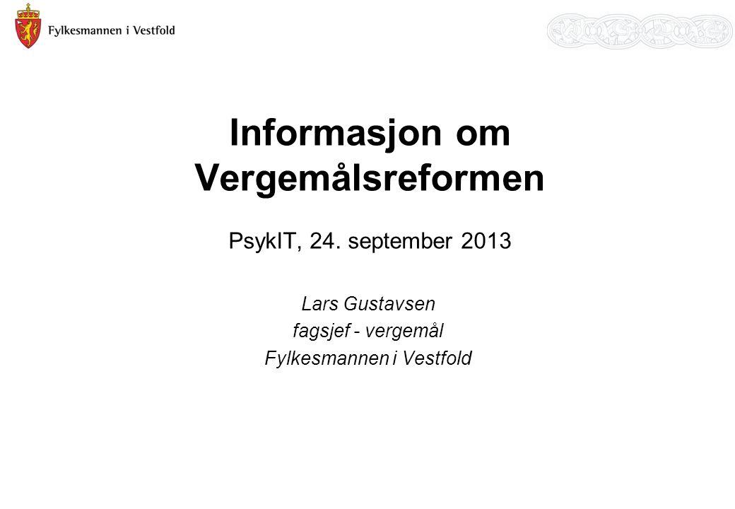 Informasjon om Vergemålsreformen PsykIT, 24.