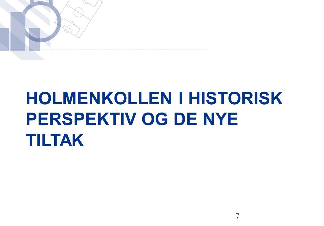 HOLMENKOLLEN I HISTORISK PERSPEKTIV OG DE NYE TILTAK 7