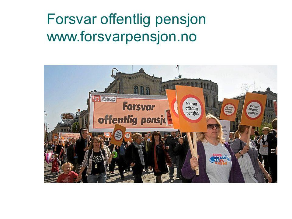 Forsvar offentlig pensjon www.forsvarpensjon.no