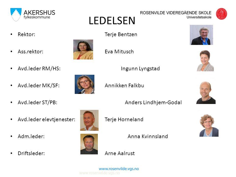 Avdeling for elevtjenester Leder for elevtjenesten: Terje Horneland Rådgivere: Tove Handeland John Olav G.