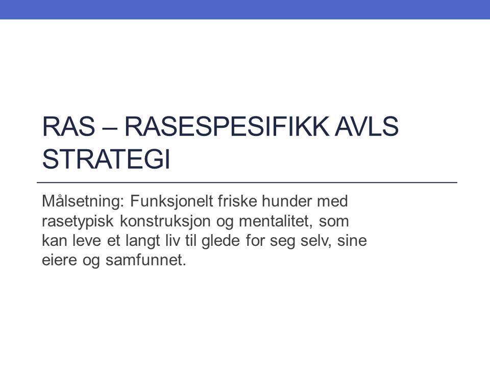 RAS Forvaltningen: NKK har delegert ansvaret for den enkelte rase til raseklubbene.