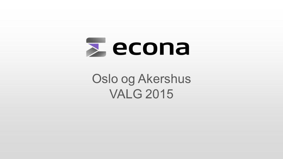 Oslo og Akershus VALG 2015