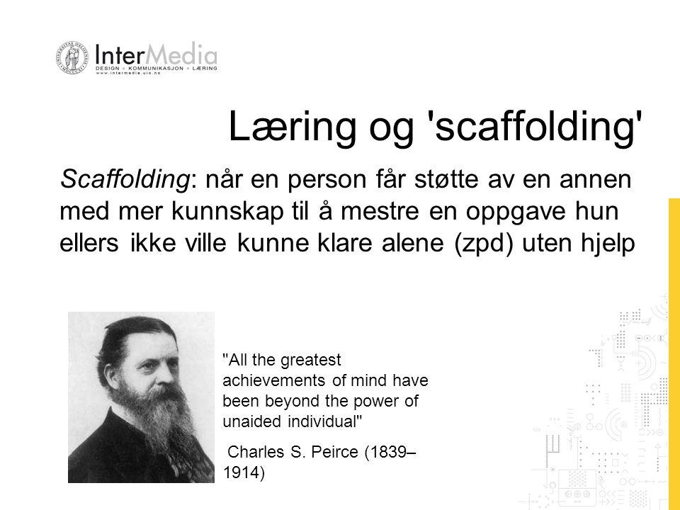 Læring og 'scaffolding'