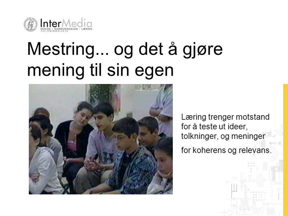 Mestring...