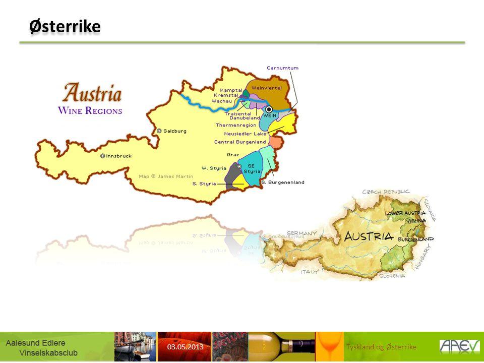Vinregioner Østerrike 03.05.2013 Tyskland og Østerrike3