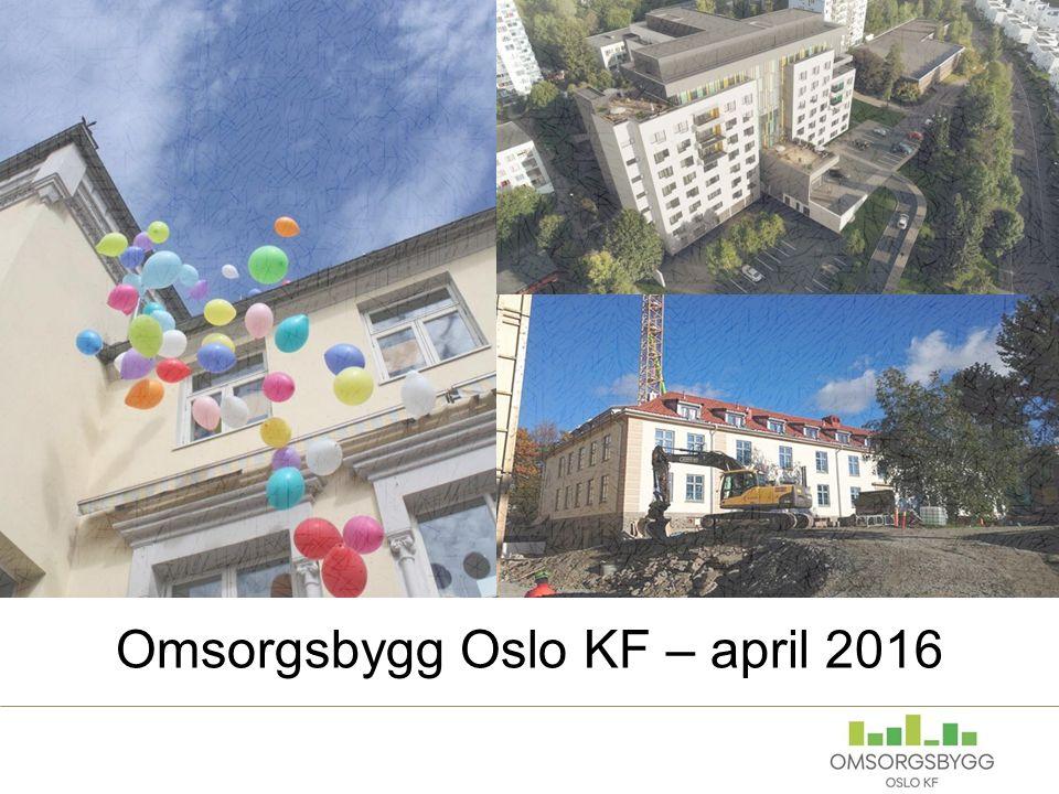 Omsorgsbygg Oslo KF – april 2016