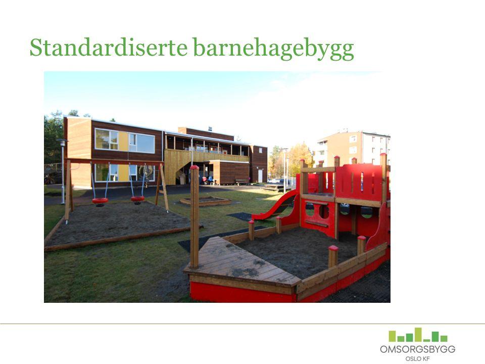 Standardiserte barnehagebygg