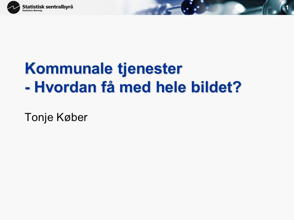 Bakgrunn for prosjektet Økende bruk av konkurranseutsetting av tjenester Spesielt innenfor pleie og omsorg Nye områder, f.