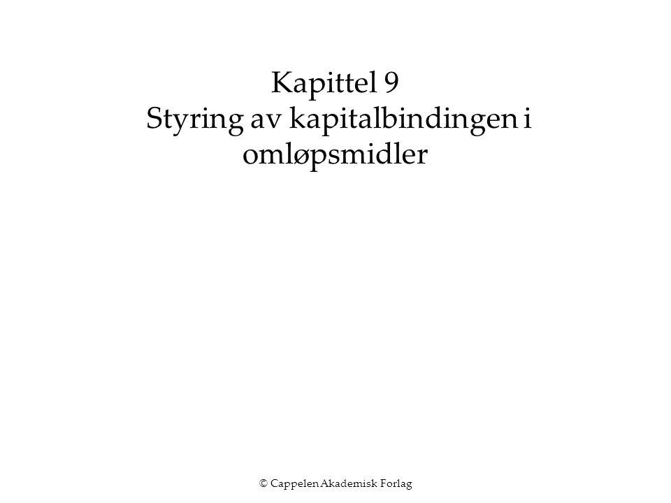 © Cappelen Akademisk Forlag 13 2.
