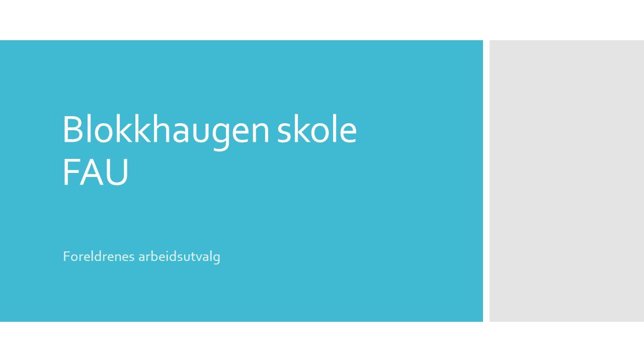 Blokkhaugen skole FAU Foreldrenes arbeidsutvalg