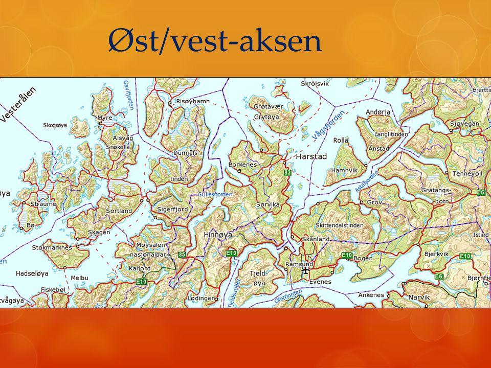 Øst/vest-aksen