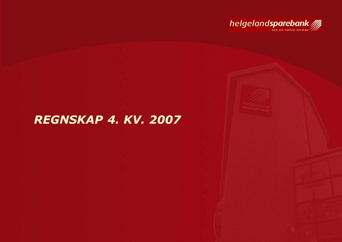 REGNSKAP 4. KV. 2007