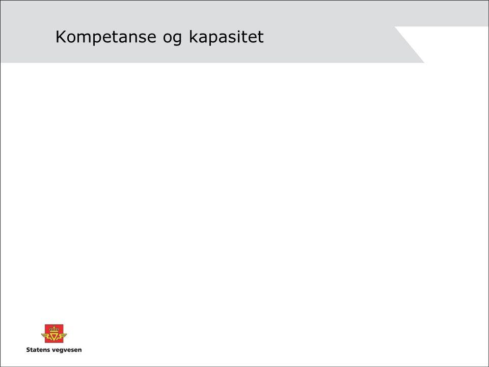 Kompetanse og kapasitet