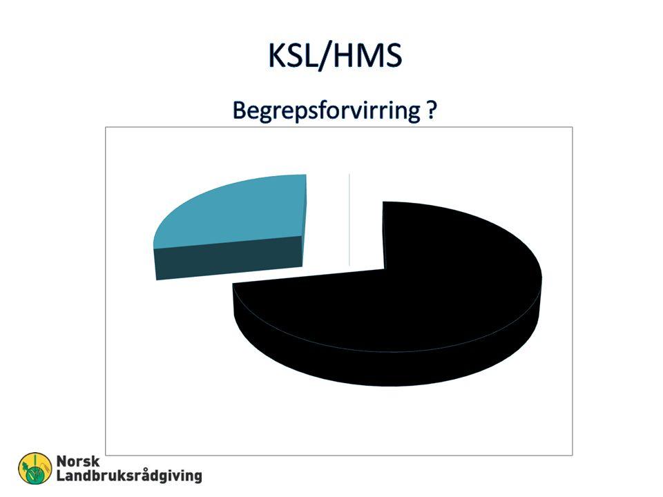 Gårdens KSL-/HMS-system 1.Egenrevisjon KSL/HMS m/Generelle mål organisering og ansvarsbeskrivelse 2.Tiltaksplan og rutineoversikt,SJA 3.Dokumentert opplæring: arbeidsutstyr, kurs etc.