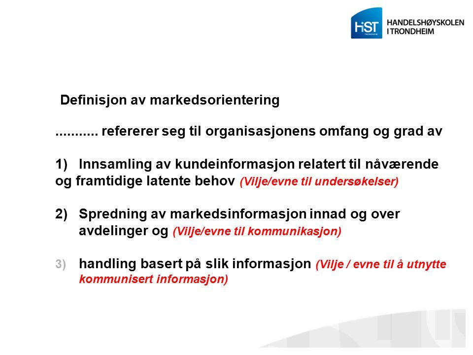 Servicetriangelet Personaladministrasjon som fag er sterkt knyttet opp mot markedsførings- i en tjenesteytende organisasjon.