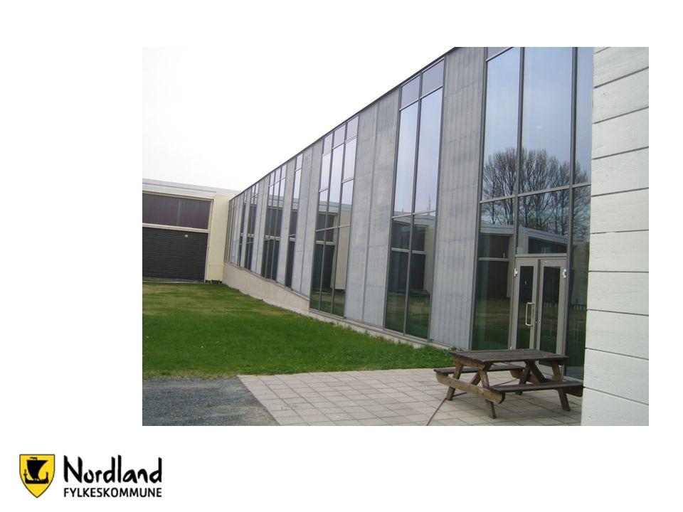Bibliotek og treningssenter samlet i ett bygg på Byåsen vg. skole i Trondheim