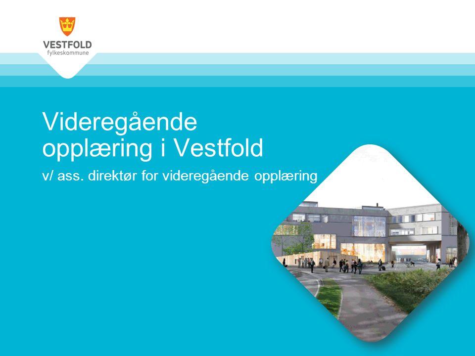 Videregående opplæring i Vestfold v/ ass. direktør for videregående opplæring