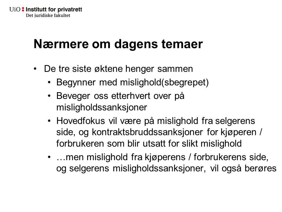 Mangel ved kjøpsgjenstanden – et konkret eksempel fra rettspraksis Hjemmeleksen Rt.