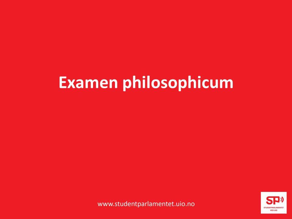 Examen philosophicum